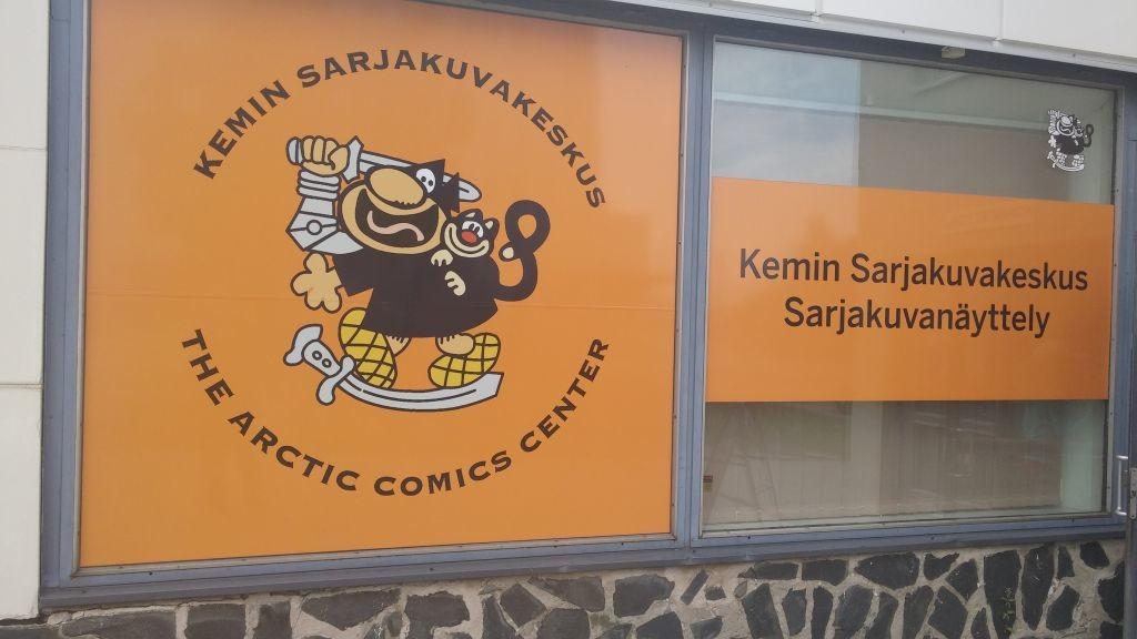 Kemin sarjakuvanäyttely